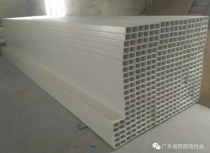 玻璃钢檩条--防腐建材的又一创新奉献